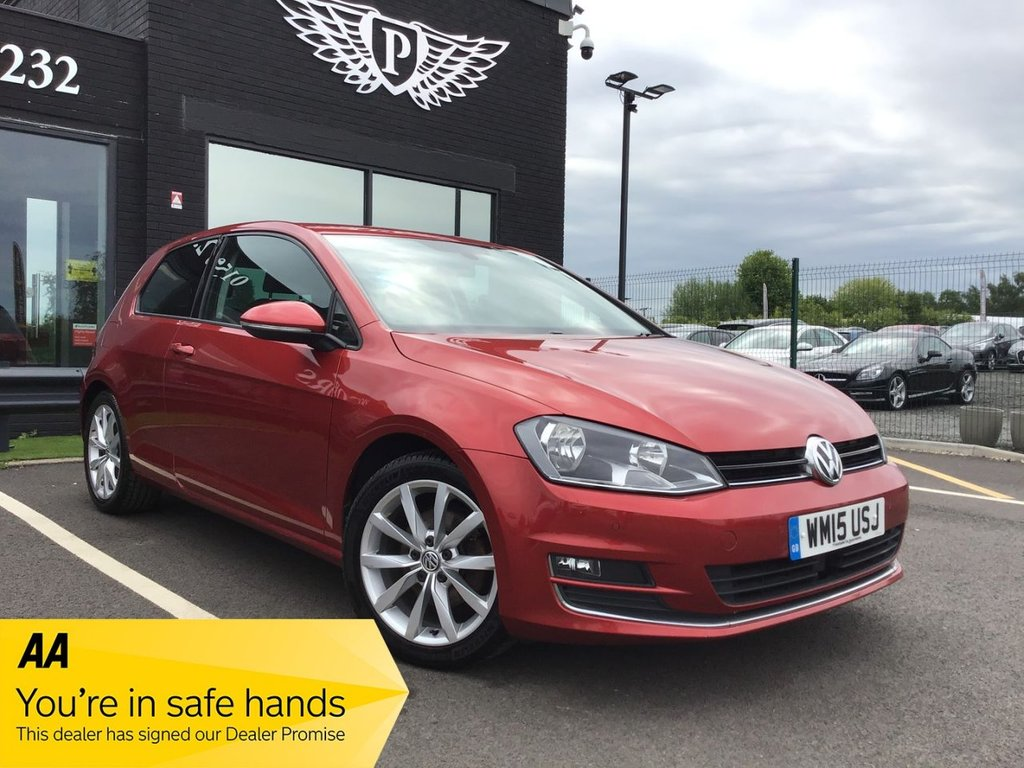 USED 2015 15 VOLKSWAGEN GOLF 2.0 GT TDI BLUEMOTION TECHNOLOGY 3d 148 BHP NATIONWIDE DELIVERY AVAILABLE!