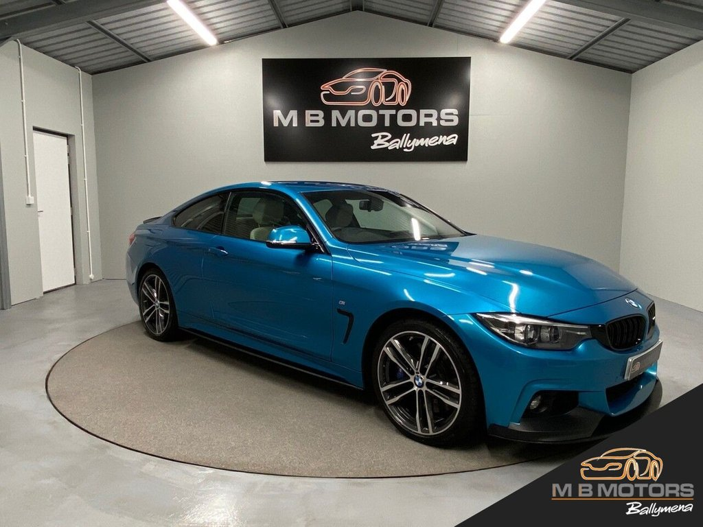 USED 2017 BMW 4 SERIES 435D XDRIVE M SPORT 2d 309 BHP **OVER £3,000 OF OPTIONS**