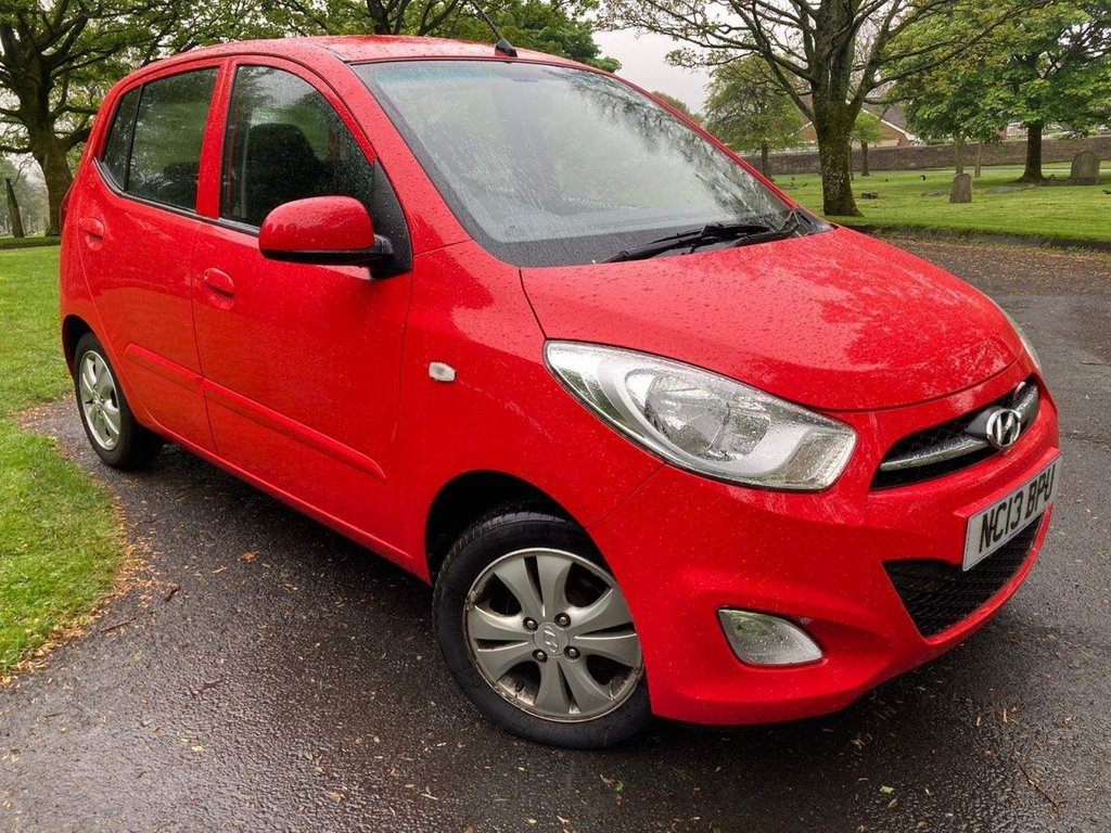 USED 2013 13 HYUNDAI I10 1.2 Active 5dr AUX USB LOW WARRANTED MILES
