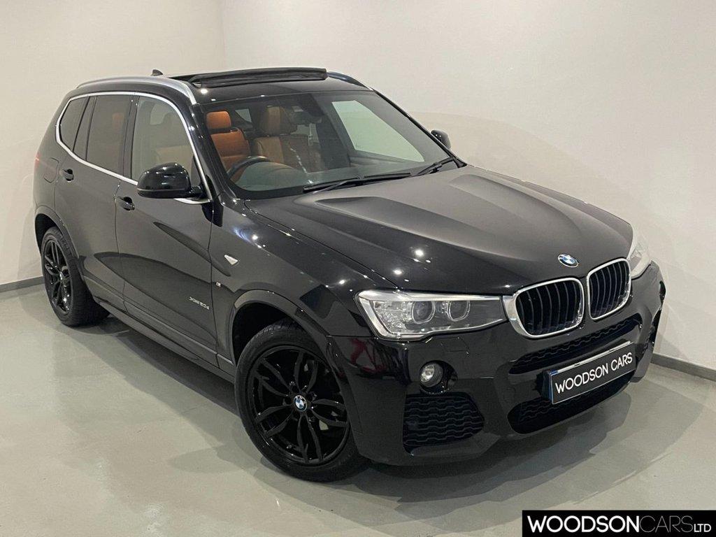 USED 2015 65 BMW X3 2.0 XDRIVE20D M SPORT 5d 188 BHP Panoramic Sunroof / Sat Nav / Bluetooth / DAB / Privacy Glass