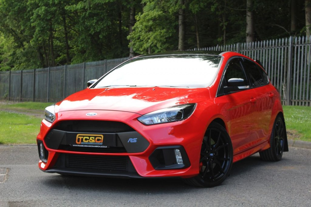 USED 2018 18 FORD FOCUS 2.3 RS RED EDITION 5d 346 BHP A STUNNING AND VERY RARE FOCUS RS RED EDITION, ONE OF ONLY 300 MADE!!!