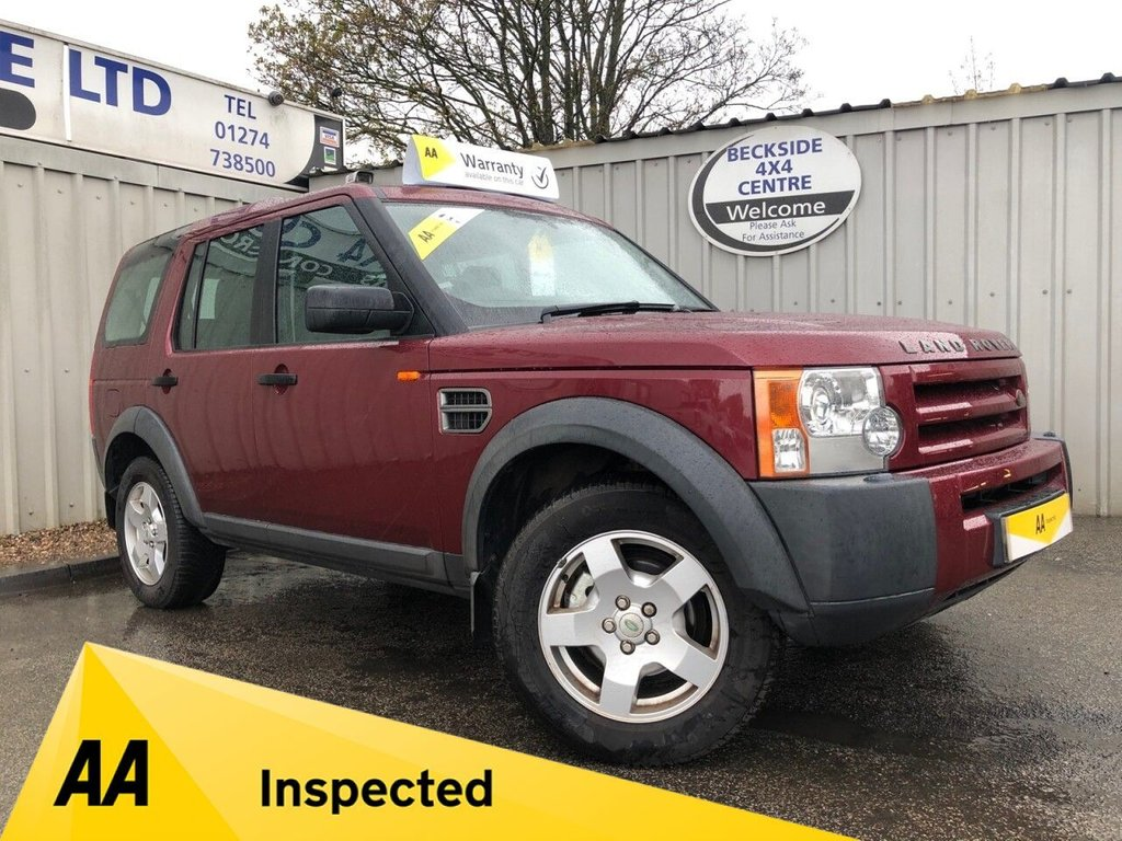 USED 2005 54 LAND ROVER DISCOVERY 3 2.7 3 TDV6 S 5d 188 BHP AA INSPECTED. FINANCE. WARRANTY. 7 SEATER. MANUAL. LOW MILES. CHEAPER ROAD TAX