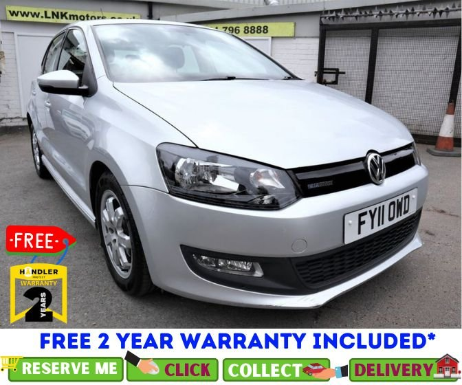 USED 2011 11 VOLKSWAGEN POLO 1.2 BLUEMOTION TDI 5d 74 BHP *CLICK & COLLECT OR DELIVERY *