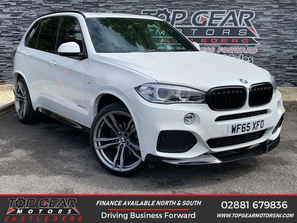 USED 2015 65 BMW X5 3.0255BHP XDRIVE30D M SPORT AUTO ** PANORAMIC SUNROOF, M-PERFORMANCE KIT, 7 SEATER ** OVER 90 VEHICLES IN STOCK