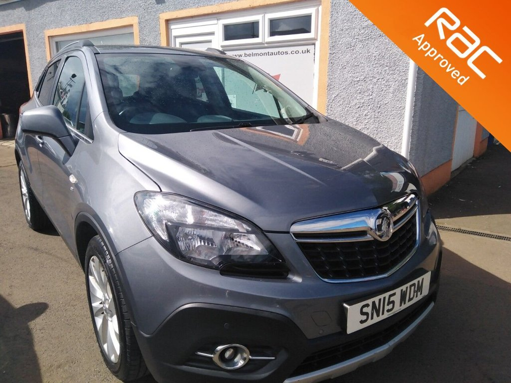 """USED 2015 15 VAUXHALL MOKKA 1.6 SE S/S 5d 113 BHP 18"""" Alloys, Leather Interior, Heated Seats, Heated Steering Wheel, Parking Sensors, Bluetooth and much more! Free RAC Warranty"""