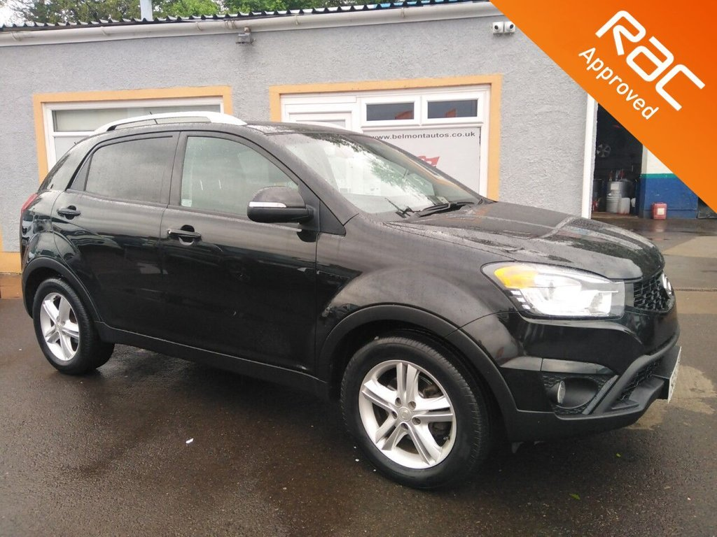 """USED 2015 15 SSANGYONG KORANDO 2.0 ELX4 5d 147 BHP 17"""" Alloys, Leather, Heated Seats, Bluetooth, Parking Sensors, Cruise Control, 6 Service Stamps, Free RAC warranty"""