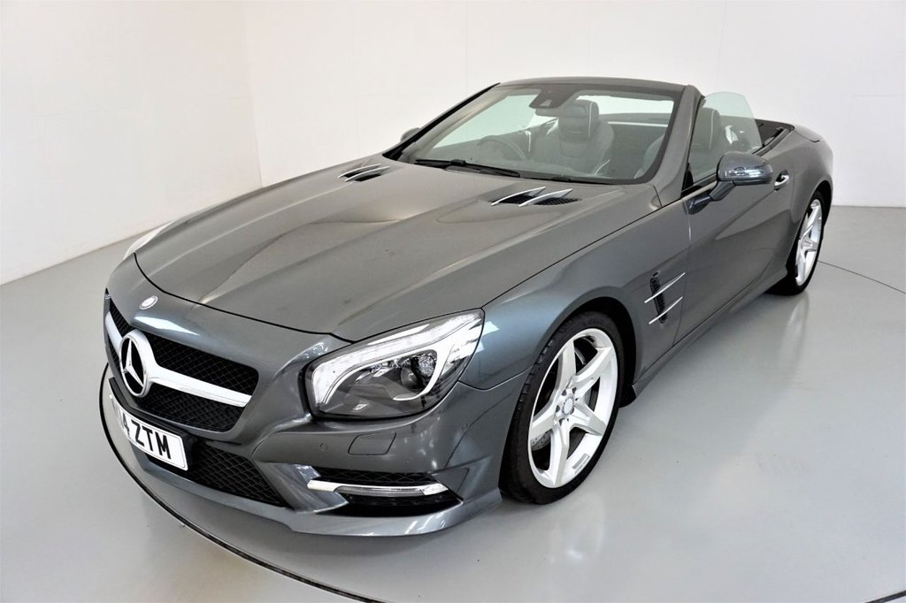 USED 2014 14 MERCEDES-BENZ SL 4.7 SL500 2d AUTO-PANORAMIC ROOF-19