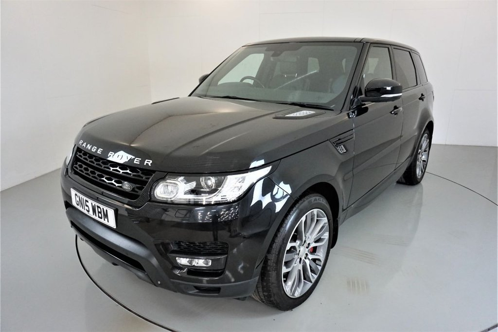 USED 2015 15 LAND ROVER RANGE ROVER SPORT 3.0 SDV6 HSE DYNAMIC 5d AUTO 288 BHP-2 OWNER CAR-21