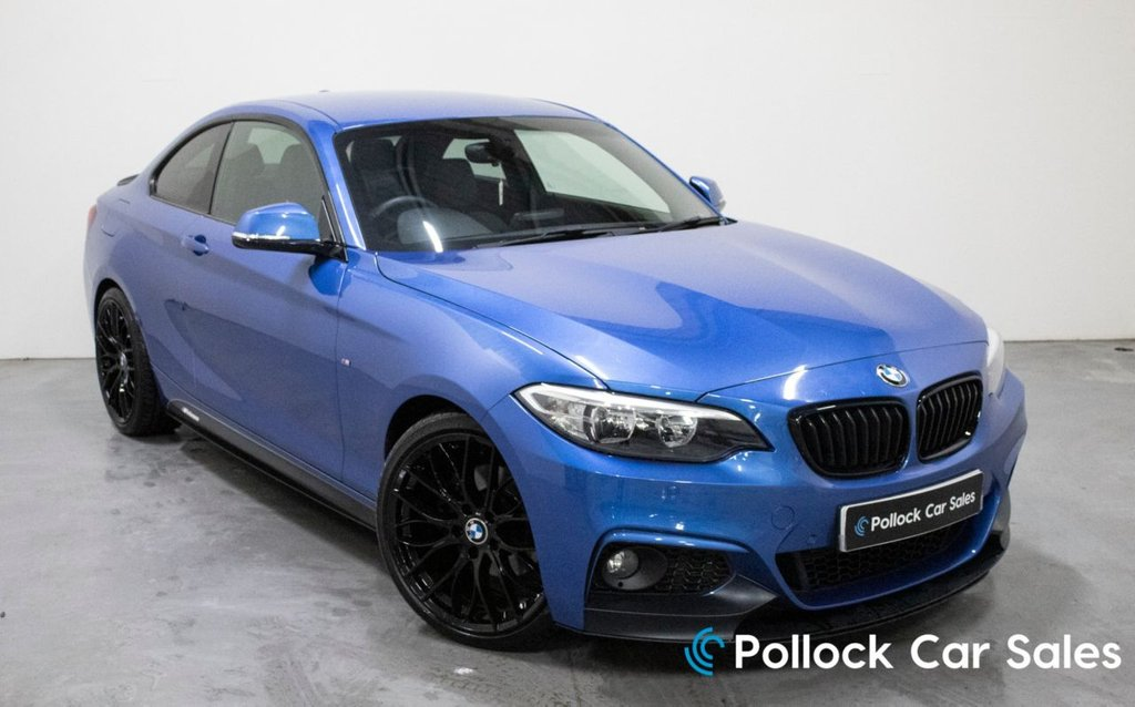 """USED 2014 07 BMW 2 SERIES 2.0 220D M SPORT 2d 181 BHP M Performance Kit, 19"""" Motorsport wheels inc"""
