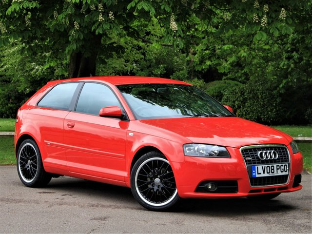 USED 2008 08 AUDI A3 1.4 TFSI S LINE 3d 123 BHP £251 PCM With £599 Deposit (24 Months)