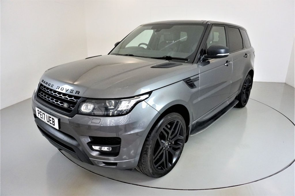 USED 2017 17 LAND ROVER RANGE ROVER SPORT 3.0 SDV6 HSE DYNAMIC 5d AUTO-SLIDING PANORAMIC ROOF-STEALTH PACK-22