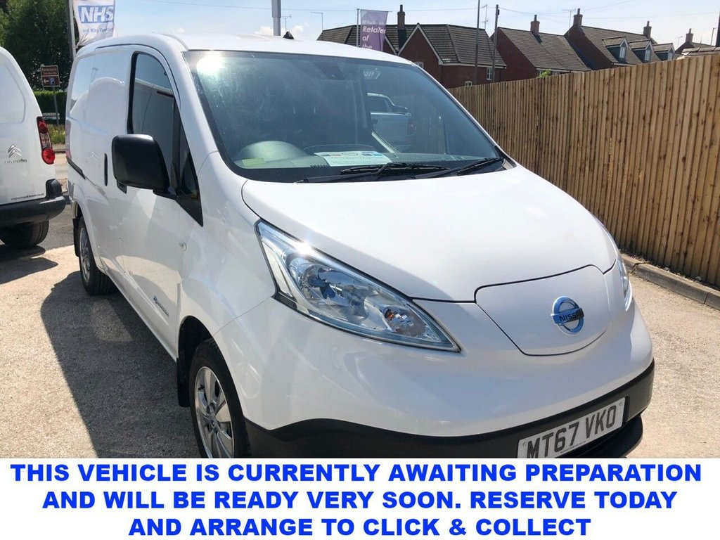 USED 2017 67 NISSAN NV200 0.0 E TEKNA RAPID Electric Van Spec Including Aircon Sat Nav Cruise Control Alloys Rear Camera Heated Seats Bluetooth Plylined Fantastic Specification!