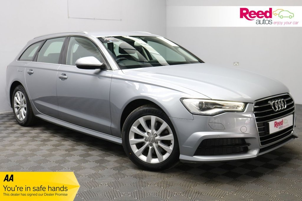USED 2017 17 AUDI A6 2.0 AVANT TDI ULTRA SE EXECUTIVE 5d 188 BHP 1 FORMER KEEPER+FULL SERVICE HISTORY+AUTOMATIC BOOT LID RELEASE+FULL LEATHER SEAT UPHOLSTERY+PARKING SENSORS