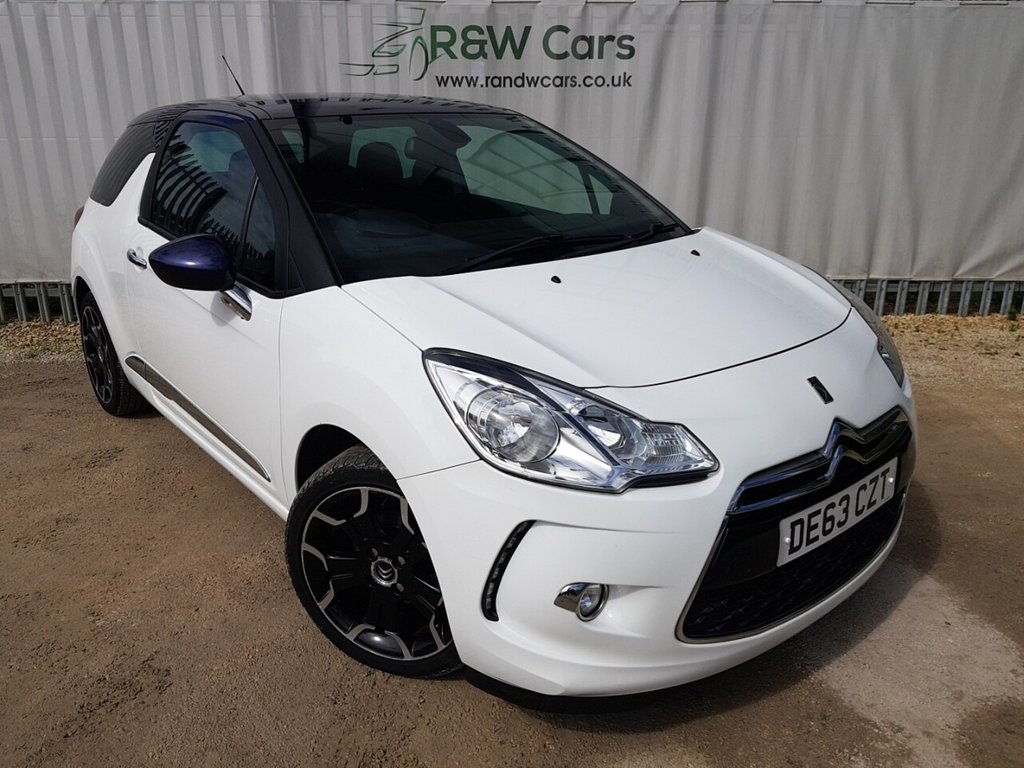 USED 2013 63 CITROEN DS3 1.6 E-HDI DSTYLE PLUS 3d 90 BHP