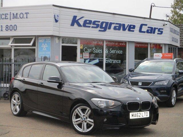 USED 2012 62 BMW 1 SERIES 1.6 118I M SPORT 5d 168 BHP 2 Owner, High Spec