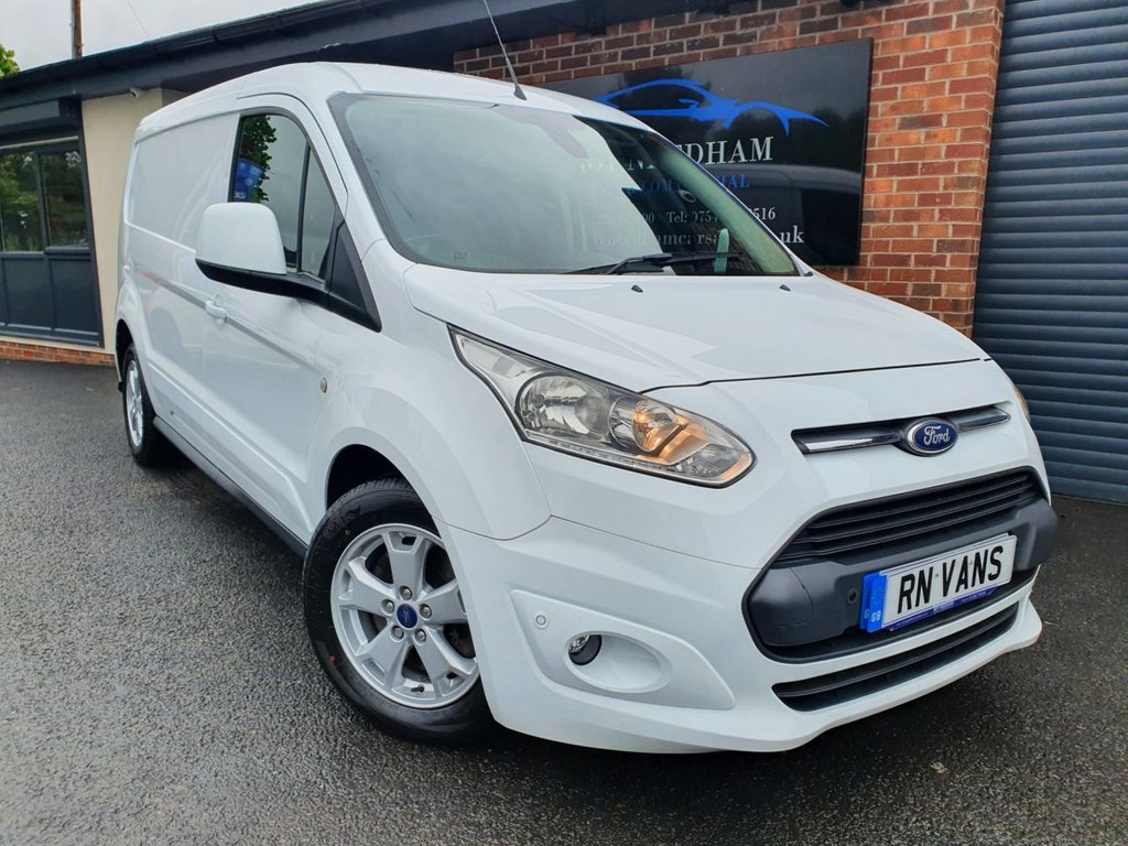 USED 2016 16 FORD TRANSIT CONNECT 1.5 240 LIMITED L1H1 118 BHP *** GREAT SPEC - SAT NAV - SENSORS ***