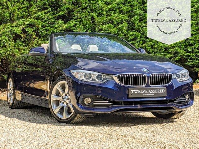 USED 2015 15 BMW 4 SERIES 3.0 435I LUXURY 2d AUTO 302 BHP