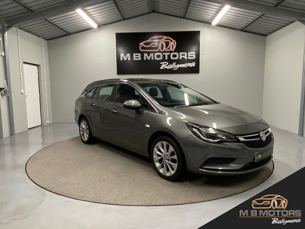 USED 2017 VAUXHALL ASTRA TECH LINE 1.4 5d 99 BHP ESTATE