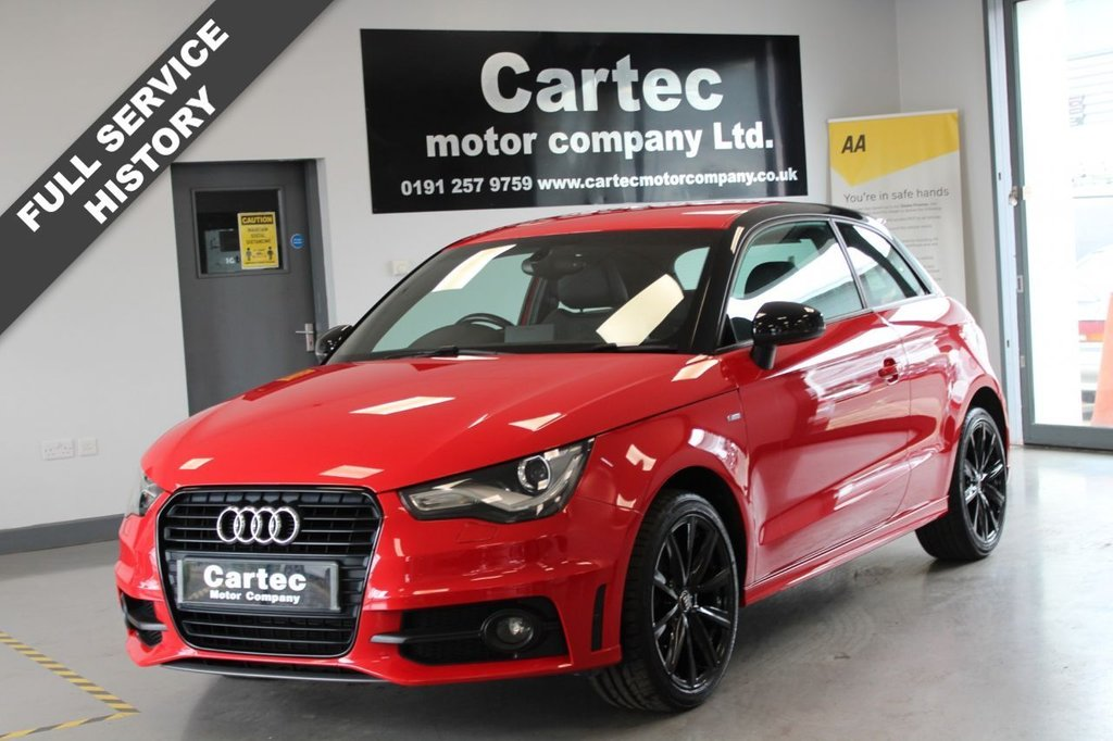USED 2013 63 AUDI A1 1.4 TFSI S LINE STYLE EDITION 3d 121 BHP ***FULL SERVICE HISTORY***