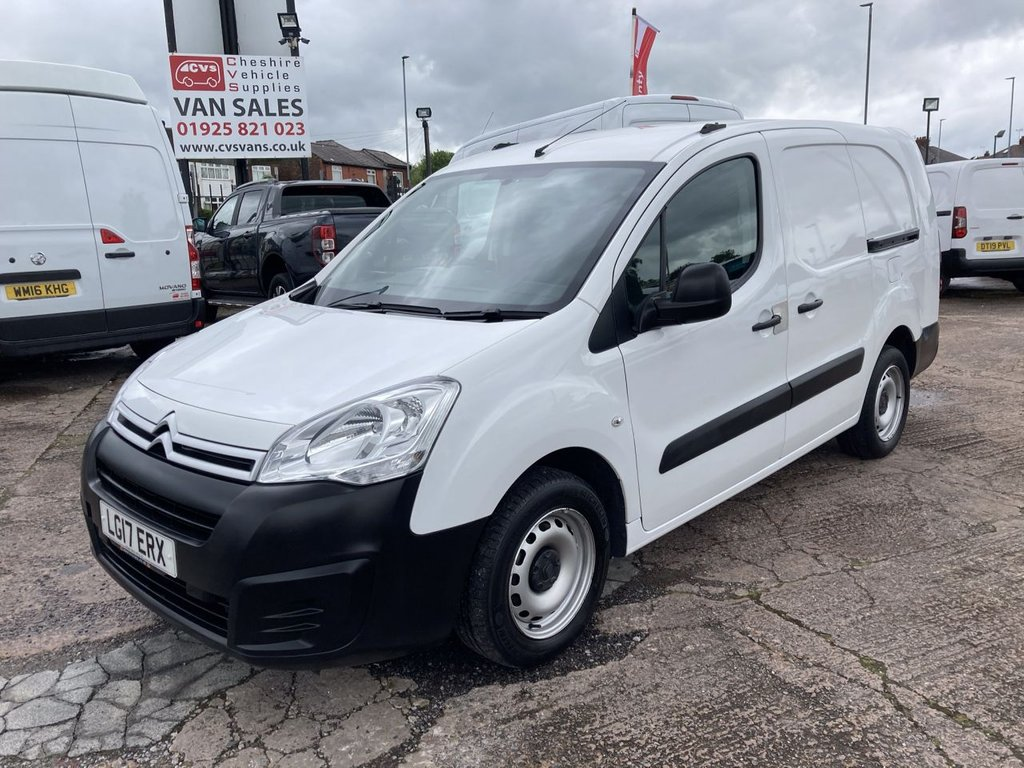USED 2017 17 CITROEN BERLINGO 1.6 750 LX L2 BLUEHDI 98 BHP 1 OWNER FSH NEW MOT AIR CON 3 SEATS FREE WARRANTY INCLUDING RECOVERY AND ASSIST NEW MOT AIR CONDITIONING 3 SEATS