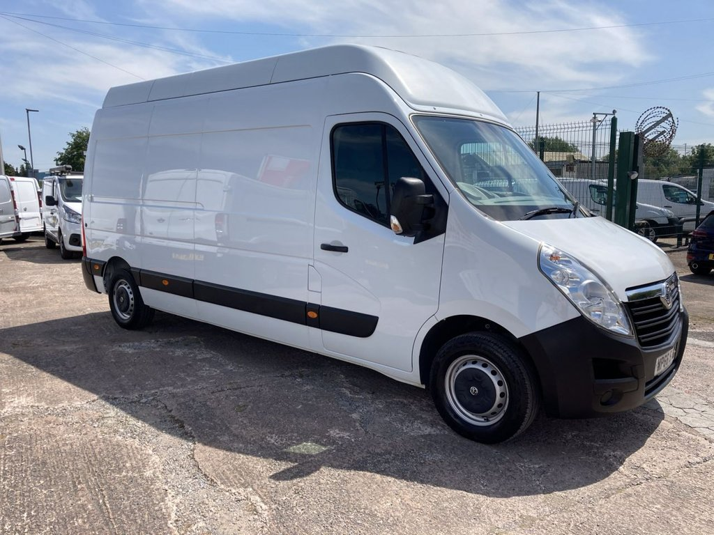 USED 2017 66 VAUXHALL MOVANO 2.3 F3500 L3H3 CDTI 134 BHP 1 OWNER FSH NEW MOT REAR RAMP AIR CON SAT NAV FREE WARRANTY INCLUDING RECOVERY AND ASSIST NEW MOT AIR CONDITIONING SATELLITE NAVIGATION REAR RAMP