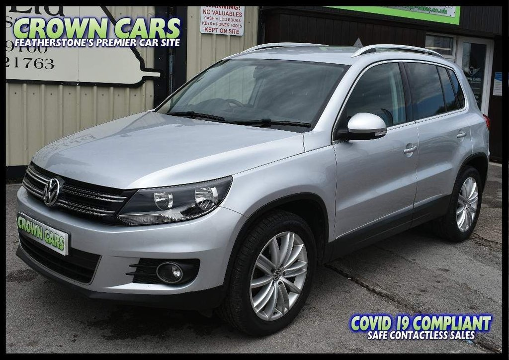 USED 2012 61 VOLKSWAGEN TIGUAN 2.0 TDI BlueMotion Tech Sport 4WD (s/s) 5dr BEAUTIFUL THROUGHOUT WITH FSH
