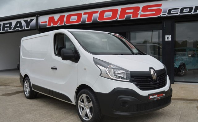 USED 2017 RENAULT TRAFIC 1.6 SL27 BUSINESS DCI 120 BHP