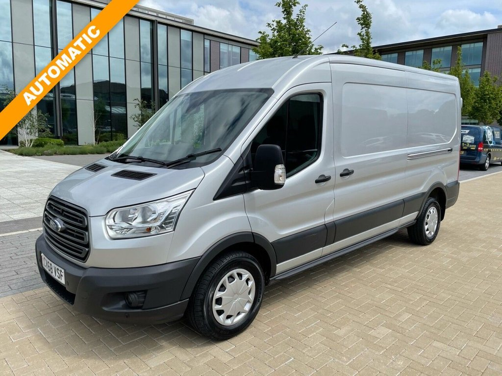 USED 2018 68 FORD TRANSIT 350 TREND 2.0TDCI AUTOMATIC 130ps L3 H2 FWD *SENSORS*E/W*BLUETOOTH* AUTOMATIC-L3H2-FWD-SENSORS-FWD