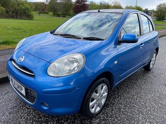 USED 2011 11 NISSAN MICRA 1.2 TEKNA 5d 79 BHP £30 Tax - Bluetooth - Full MOT