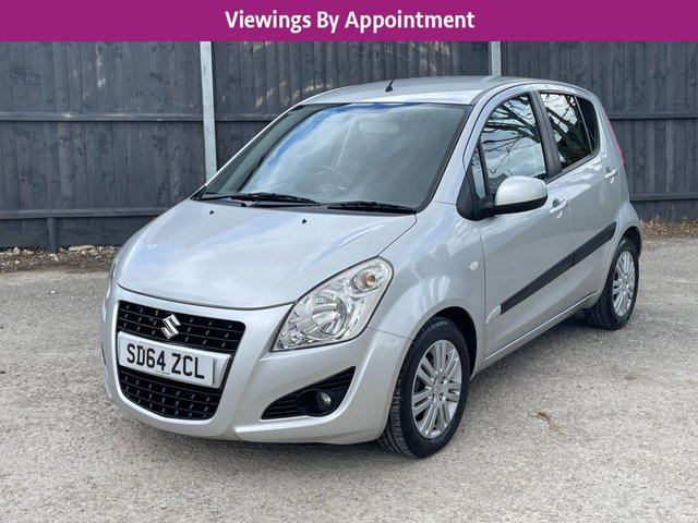 USED 2014 64 SUZUKI SPLASH 1.2 SZ4 5d 94 BHP 1 OWNER AUTOMATIC VERY LOW MILEAGE.DELIVERY POSSIBLE.