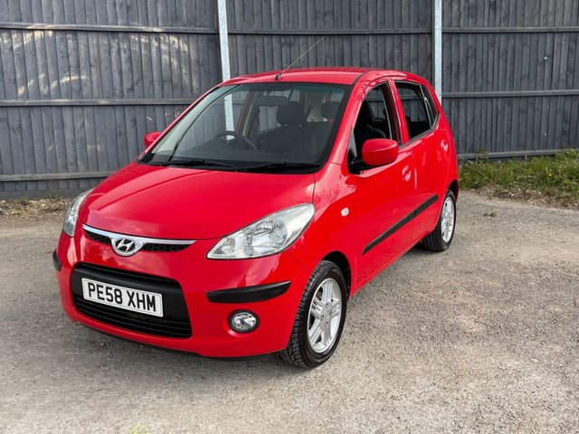 USED 2008 58 HYUNDAI I10 1.2 COMFORT 5d 77 BHP AUTOMATIC LOW MILEAGE, AIR CON, PX WELCOME. UK DELIVERY POSSIBLE