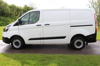 USED 2020 20 FORD TRANSIT CUSTOM 2.0 300 LEADER P/V ECOBLUE 104 BHP FORD WARRANTY - 2020 - EURO 6 - WHITE - X2 AVAILABLE