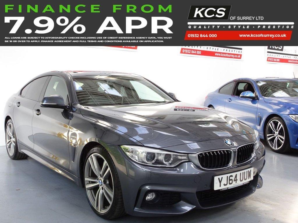 USED 2014 64 BMW 4 SERIES 2.0 428I M SPORT GRAN COUPE 4d 242 BHP PRO NAV - SUNROOF-ELEC SEATS