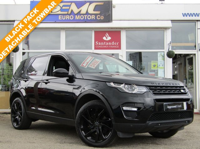 2015 65 LAND ROVER DISCOVERY SPORT 2.0 TD4 HSE LUXURY 5d 180 BHP