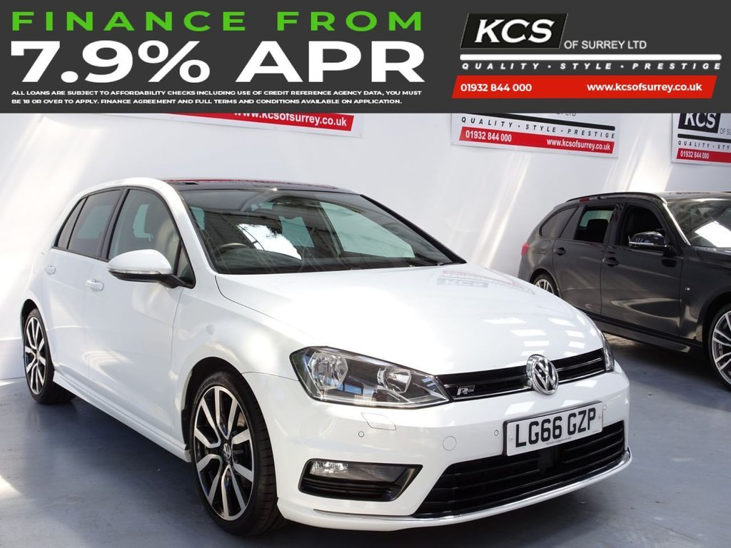 USED 2016 66 VOLKSWAGEN GOLF 1.4 R LINE EDITION TSI ACT BMT DSG 5d 148 BHP SAT NAV -PAN ROOF-SOUND PACK