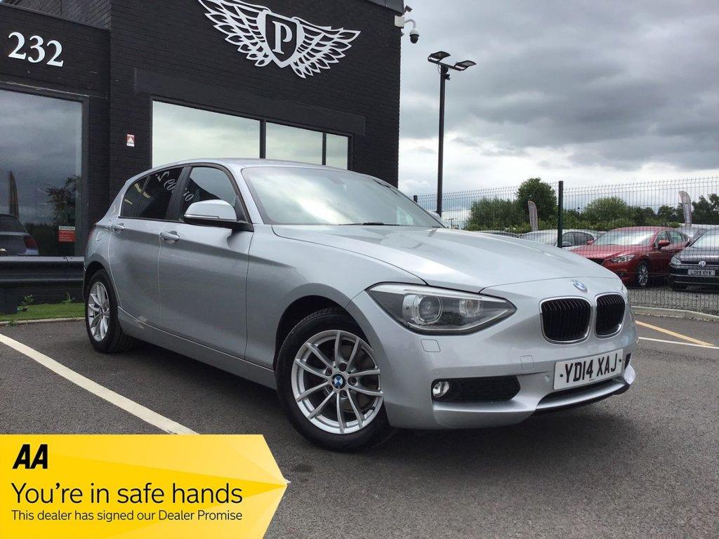 USED 2014 14 BMW 1 SERIES 2.0 116D SE 5d 114 BHP