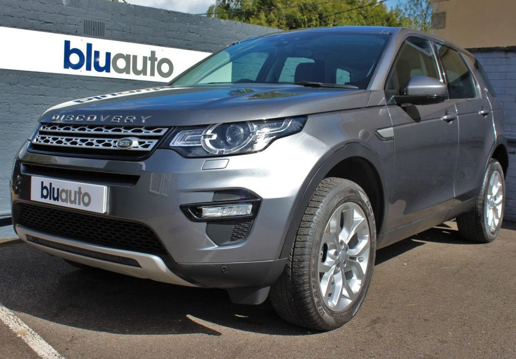 USED 2018 68 LAND ROVER DISCOVERY SPORT 2.0 TD4 HSE 5d 178 BHP 1 Owner, FSH, Black Leather, Electric Heated Seats, Rear Camera, Sat Nav, Pan Roof