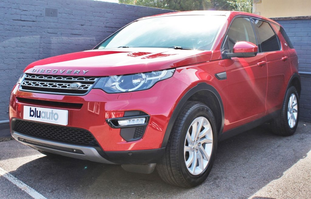 USED 2017 17 LAND ROVER DISCOVERY SPORT 2.0 TD4 SE TECH 5d 180 BHP 2 Owners, Land Rover History, 360 Degree Sensors, Keyless Entry & Start, Part Leather Heated Seats, Voice Command