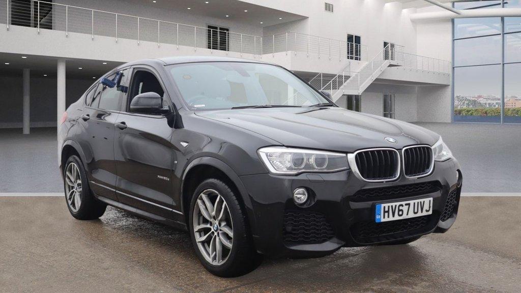 USED 2017 67 BMW X4 2.0 XDRIVE20D M SPORT 4d AUTO 188 BHP +SAT NAV +XDRIVE +HEATED SEATS