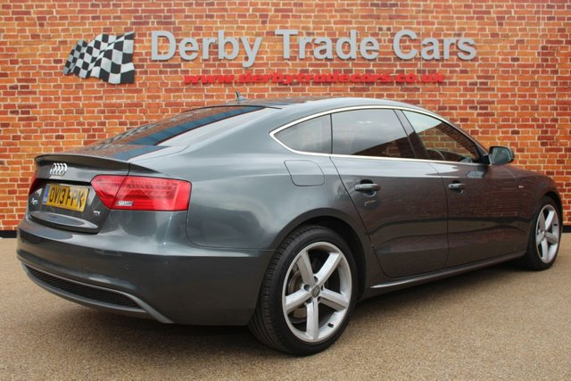 AUDI A5 at Derby Trade Cars