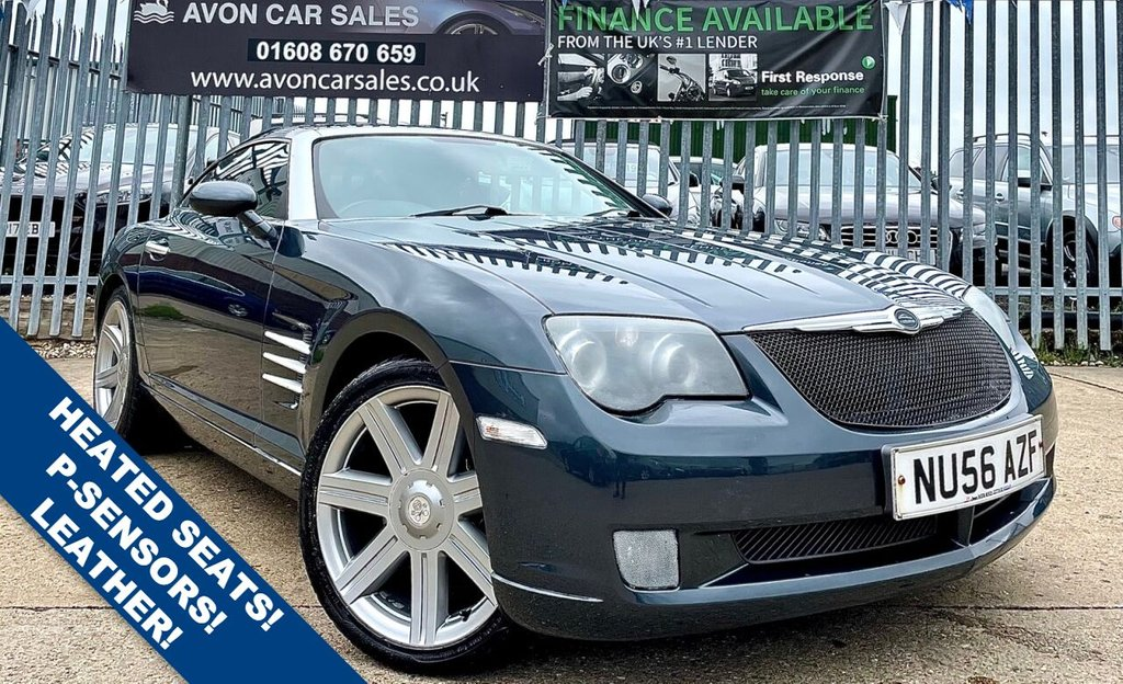 USED 2006 56 CHRYSLER CROSSFIRE 3.2 V6 2d 215 BHP AUTOMATIC! - FULL LEATHER INTERIOR! PARKING SENSORS! HEATED SEATS!