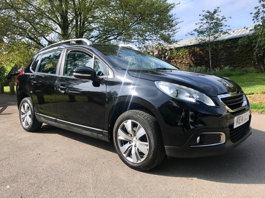 USED 2014 14 PEUGEOT 2008 1.2 ACTIVE 5d 82 BHP GREAT VALUE LOW MILEAGE WITH FULL SERVICE HISTORY !