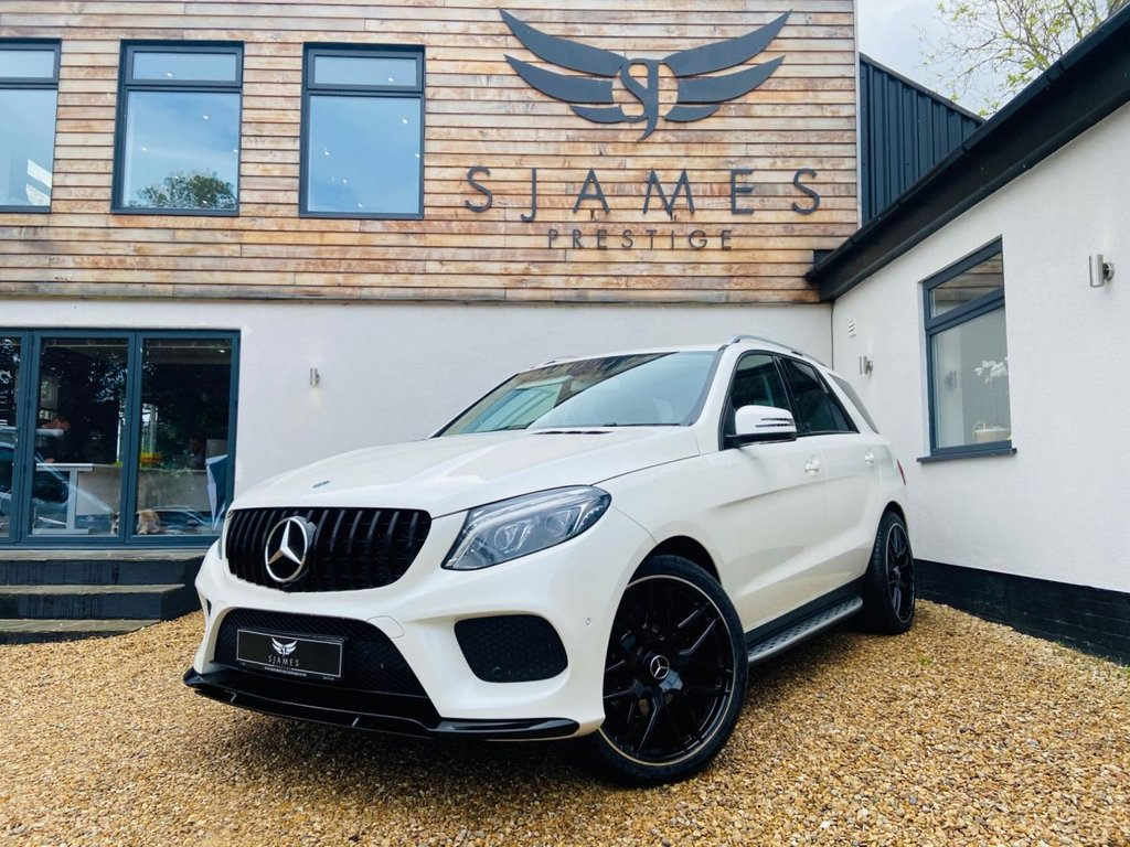 USED 2018 67 MERCEDES-BENZ GLE-CLASS 3.0 GLE 350 D 4MATIC AMG LINE 5d AUTO 255 BHP