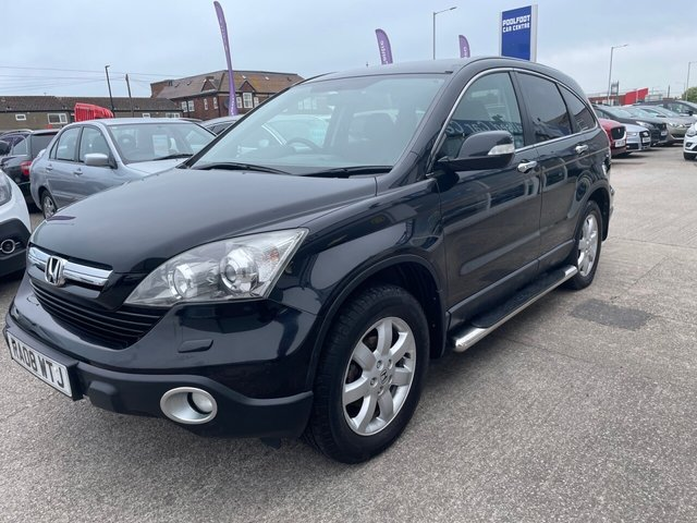 USED 2008 08 HONDA CR-V 2.2 I-CTDI ES 5d 139 BHP CRUISE*PARKING SENSORS*SERVICE HISTORY WITH 8 STAMPS