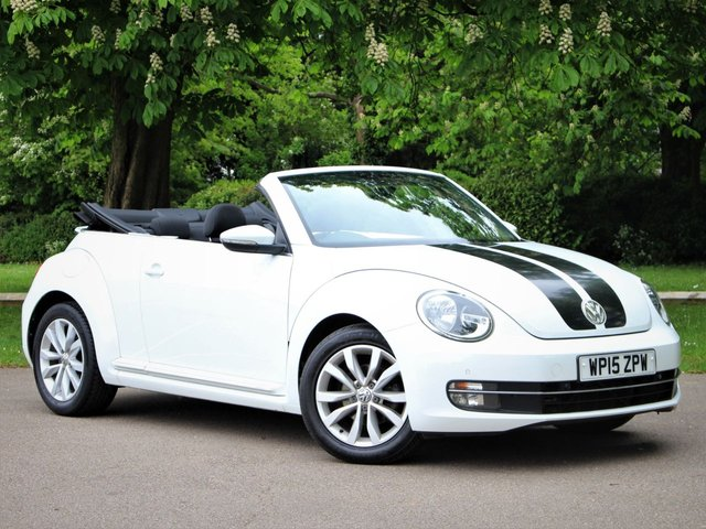 USED 2015 15 VOLKSWAGEN BEETLE 1.2 DESIGN TSI BLUEMOTION TECHNOLOGY 2d 104 BHP £240 PCM With £1349 Deposit