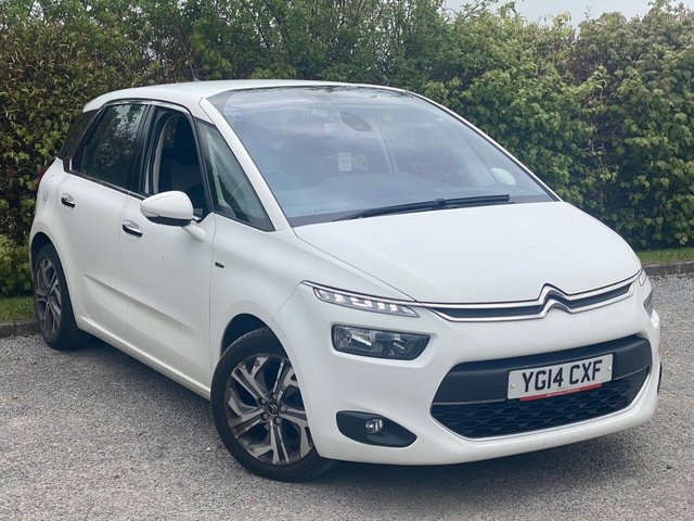 USED 2014 14 CITROEN C4 PICASSO 1.6 E-HDI AIRDREAM EXCLUSIVE 5d FULL CITROEN SERVICE HISTORY, 12 MONTHS MOT, SATELLITE NAVIGATION, BLUETOOTH, CAMERA, CRUISE