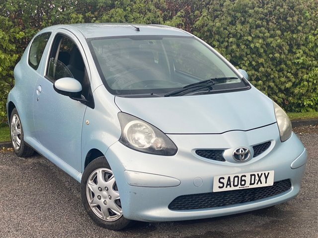 USED 2006 06 TOYOTA AYGO 1.0 VVT-I PLUS 3d * SMALL ECONOMICAL CAR * 12 MONTHS FREE AA MEMBERSHIP *