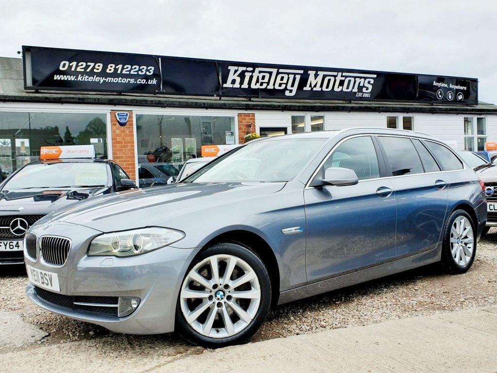 USED 2011 11 BMW 5 SERIES 3.0 525D SE TOURING 5d 202 BHP SATELLITE NAVIGATION