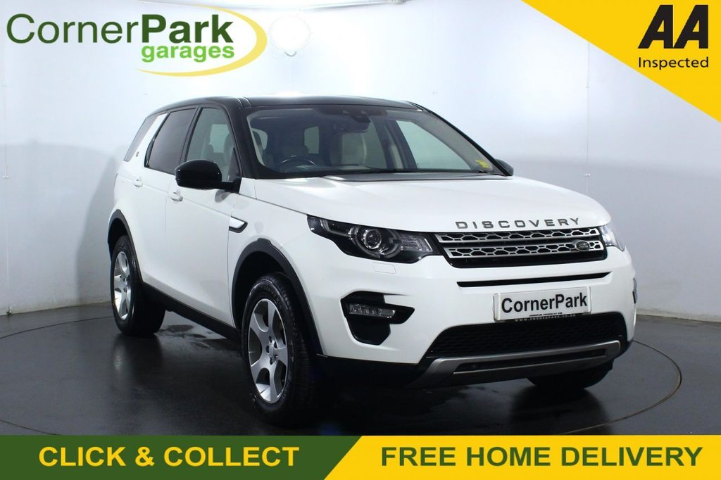 USED 2017 67 LAND ROVER DISCOVERY SPORT 2.0 TD4 HSE 5d 150 BHP