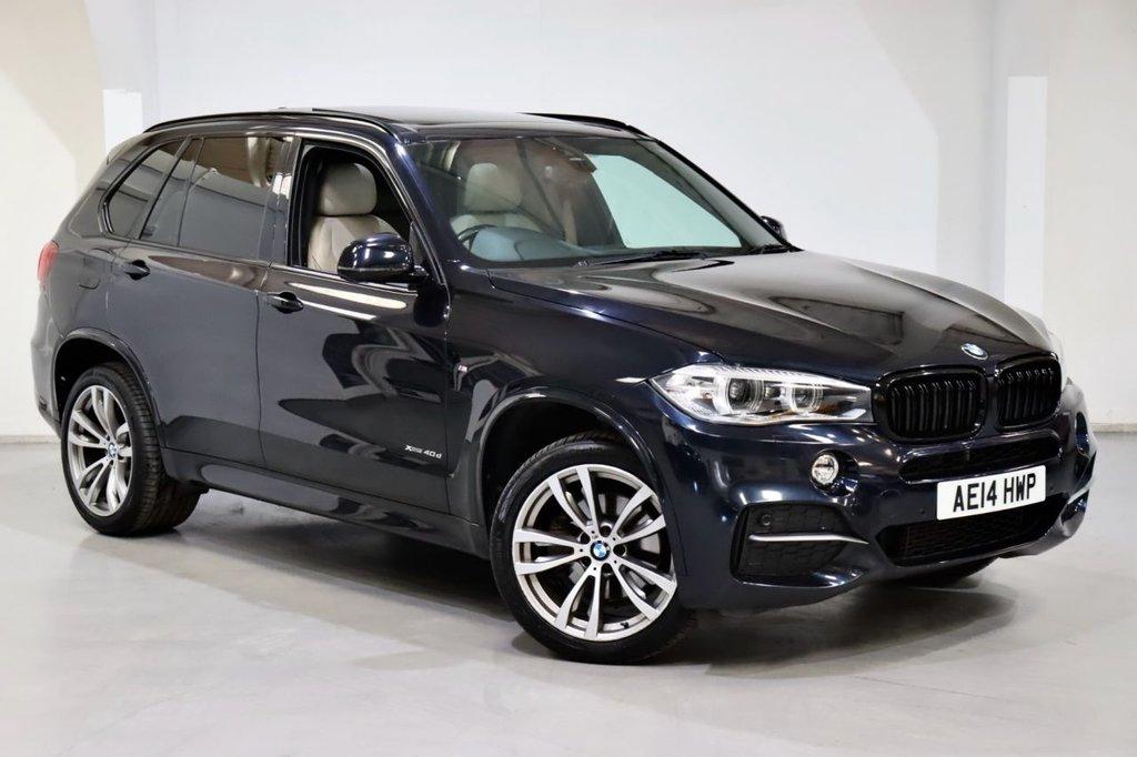 USED 2014 14 BMW X5 3.0 XDRIVE40D M SPORT 5d 309 BHP